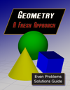 Geometry: A Fresh Approach Even Problems Solutions Manual
